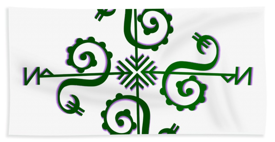 Supernal Wealth/abundance Sigil - 1 Hand Towel
