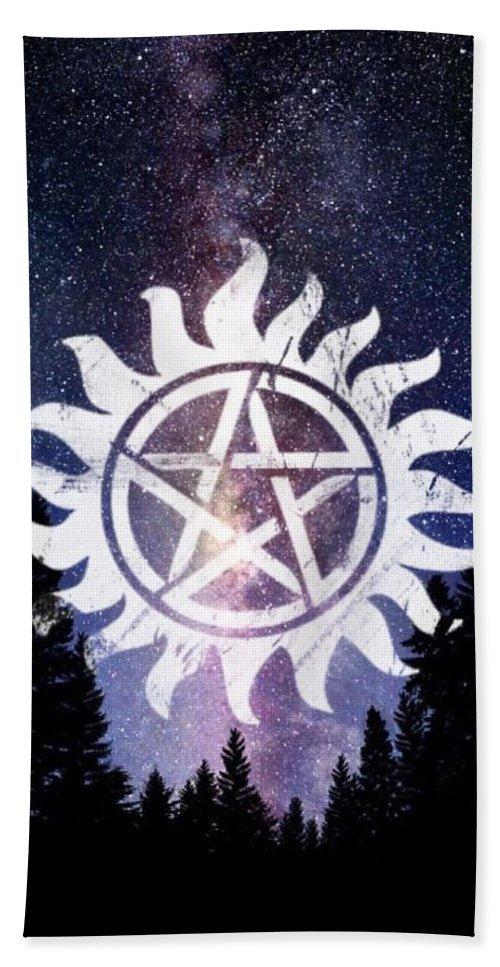 Supernatural Anti-possession Symbol Bath Towel