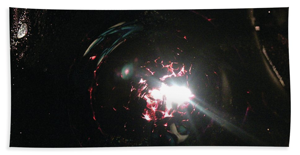 Supernova Bath Sheet featuring the photograph Supernova by Alycia Christine