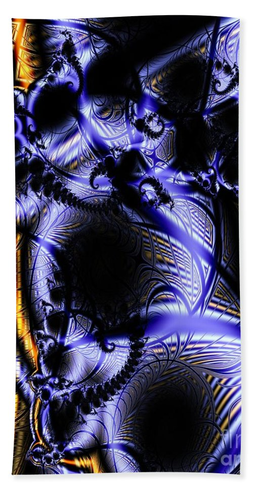 Surface Pattern Bath Towel featuring the digital art Surface Pattern by Ron Bissett