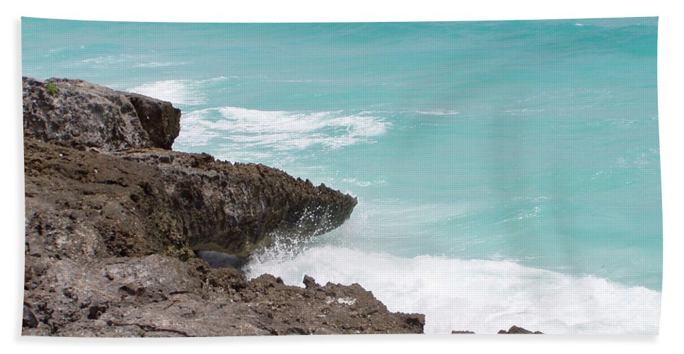 Water Bath Towel featuring the photograph Sweet Saltyness by Amanda Barcon