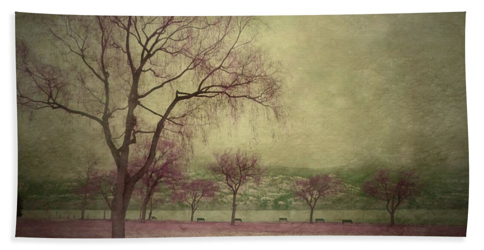 Trees Hand Towel featuring the photograph Sweetly by Tara Turner
