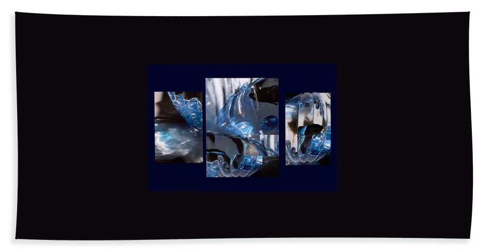 Abstract Of Betta In A Bowl Hand Towel featuring the photograph Swirl by Steve Karol