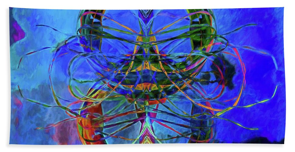 Alicegipsonphotogrpahs Bath Sheet featuring the photograph Swirls Abstract by Alice Gipson