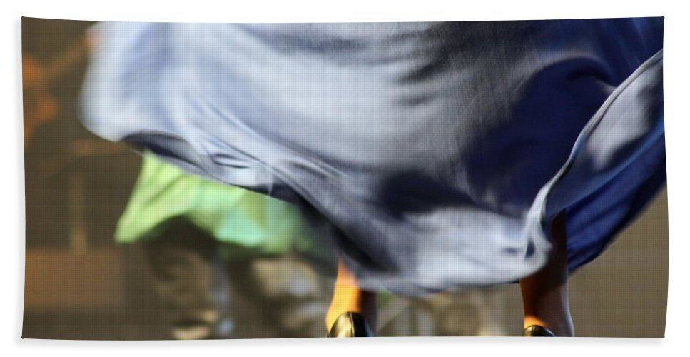Skirt Hand Towel featuring the photograph Swishhhhhhhhh by Jo Hoden