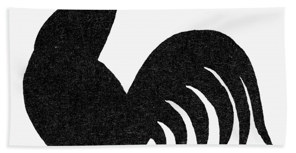 Crow Bath Sheet featuring the photograph Symbol: Announcement by Granger