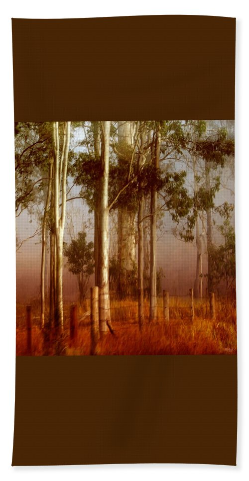 Landscape Bath Sheet featuring the photograph Tall Timbers by Holly Kempe
