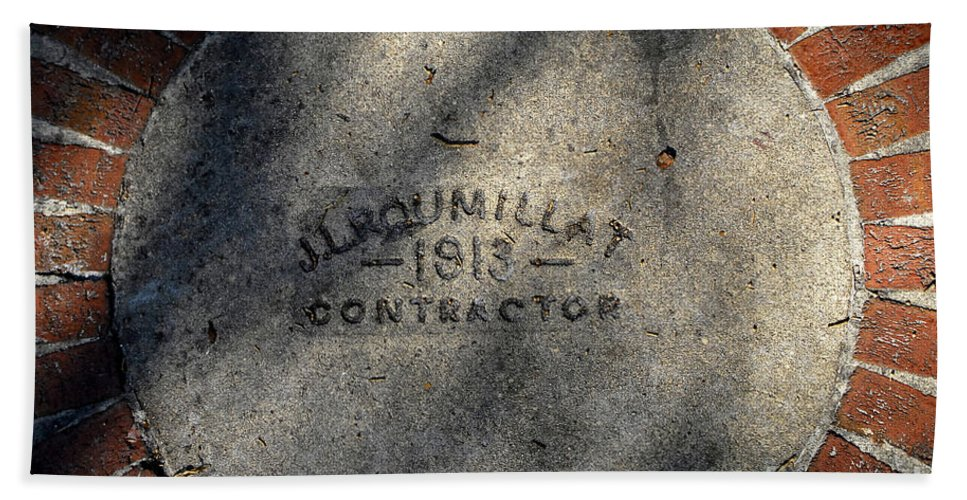 Contractor Hand Towel featuring the photograph Tampa Bay Hotel 1913 by David Lee Thompson