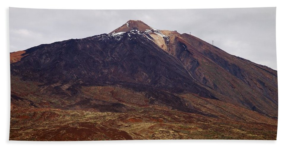 Landscape Bath Sheet featuring the photograph Teide Nr 1 by Jouko Lehto