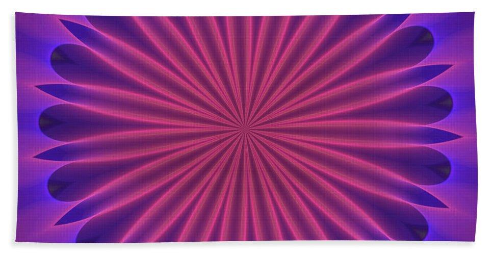 Fine Art Hand Towel featuring the digital art Ten Minute Art 102610 by David Lane