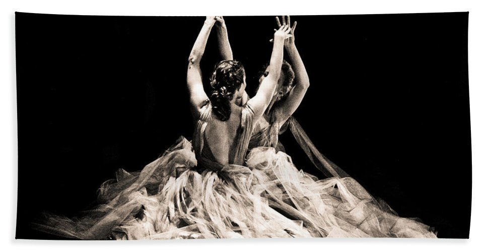 Dance Hand Towel featuring the photograph Tender Dance by Scott Sawyer