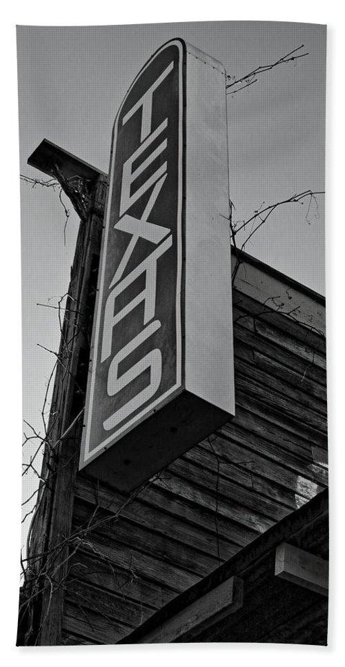 Texas Hand Towel featuring the photograph Texas by Daniel Koglin