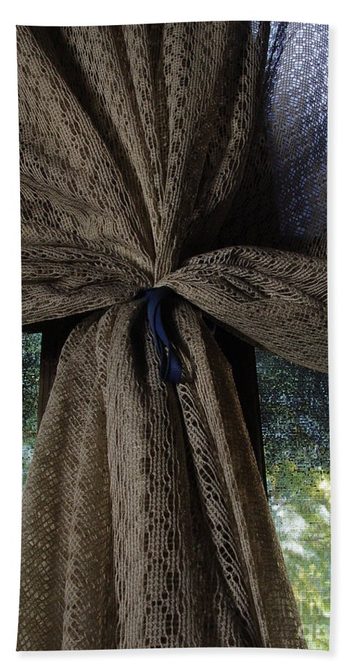 Texture Hand Towel featuring the photograph Texture And Lace by Peter Piatt