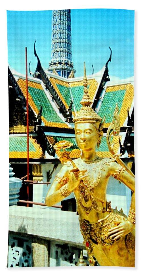 Bangcock Bath Towel featuring the photograph Thailand by Ian MacDonald