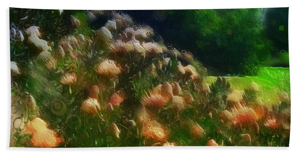 Flowers Bath Sheet featuring the photograph Thank You Day by Suzy Norris