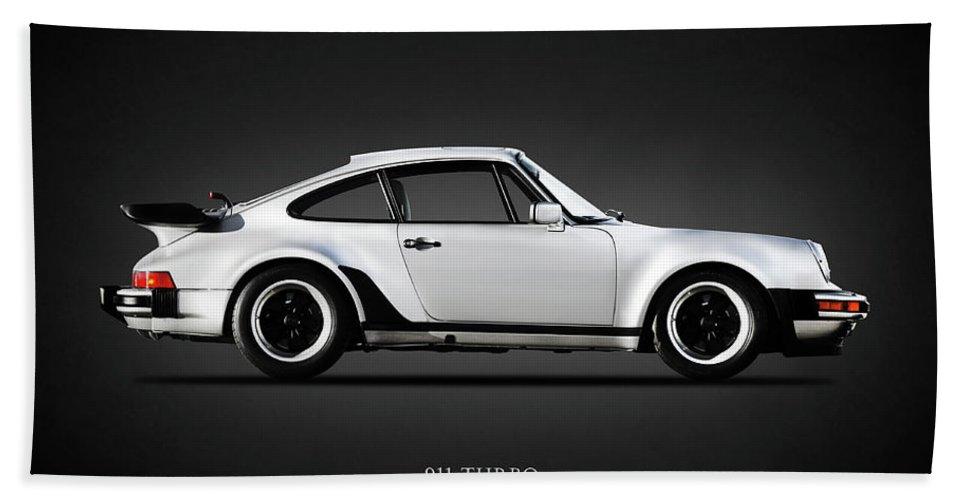 Porsche 911 Turbo Bath Towel featuring the photograph The 911 Turbo 1984 by Mark Rogan