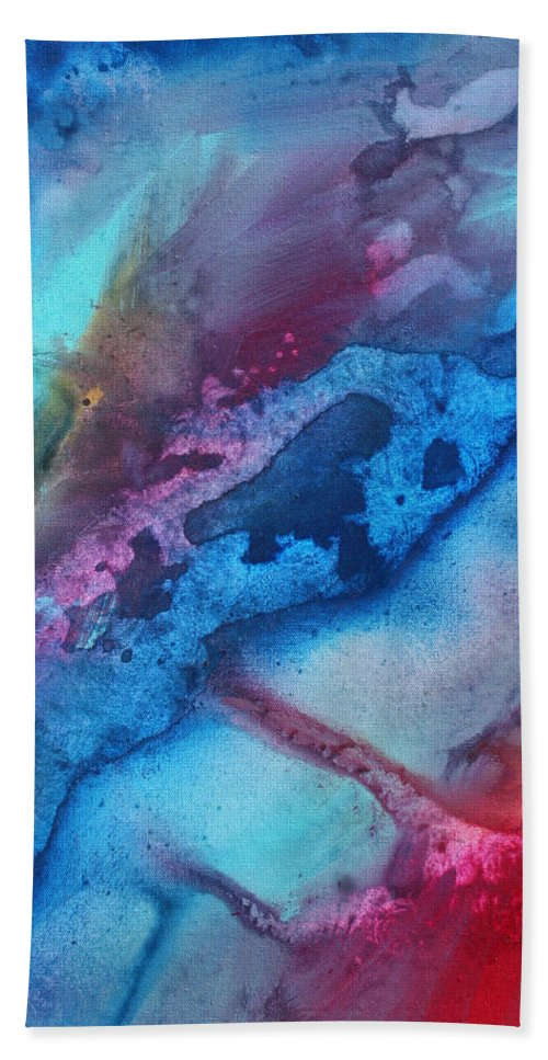 Painting Bath Sheet featuring the painting The Beauty Of Color 1 by Megan Duncanson