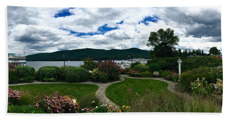 Lake George Bath Sheet featuring the photograph The Beauty Of Lake George by Patrick Byrnes