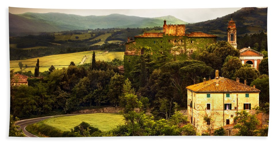 Italy Bath Towel featuring the photograph The Best Of Italy by Marilyn Hunt