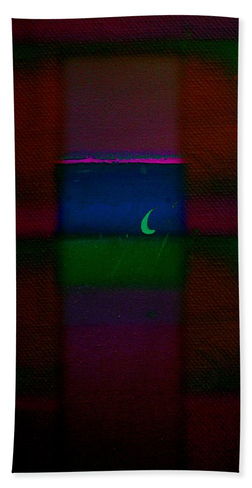 Rothko Hand Towel featuring the painting The Blue Nile by Charles Stuart