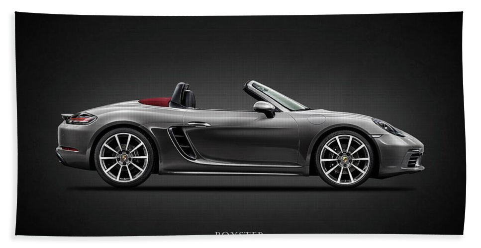 Porsche Boxster Bath Towel featuring the photograph The Boxster by Mark Rogan