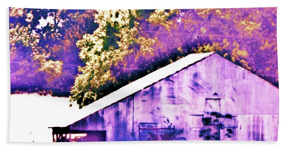 Barn Bath Sheet featuring the photograph The Broad Side by Traci Barnes