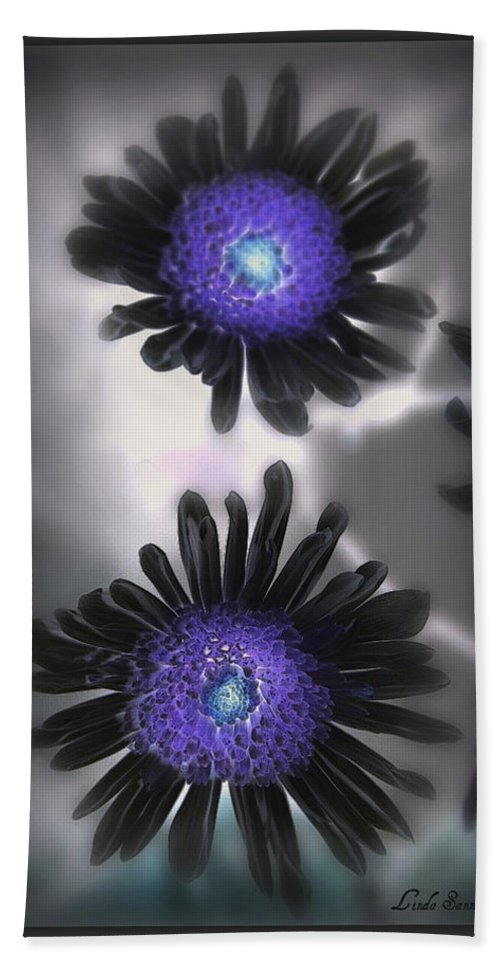 Flowers Bath Towel featuring the photograph The Color Within by Linda Sannuti