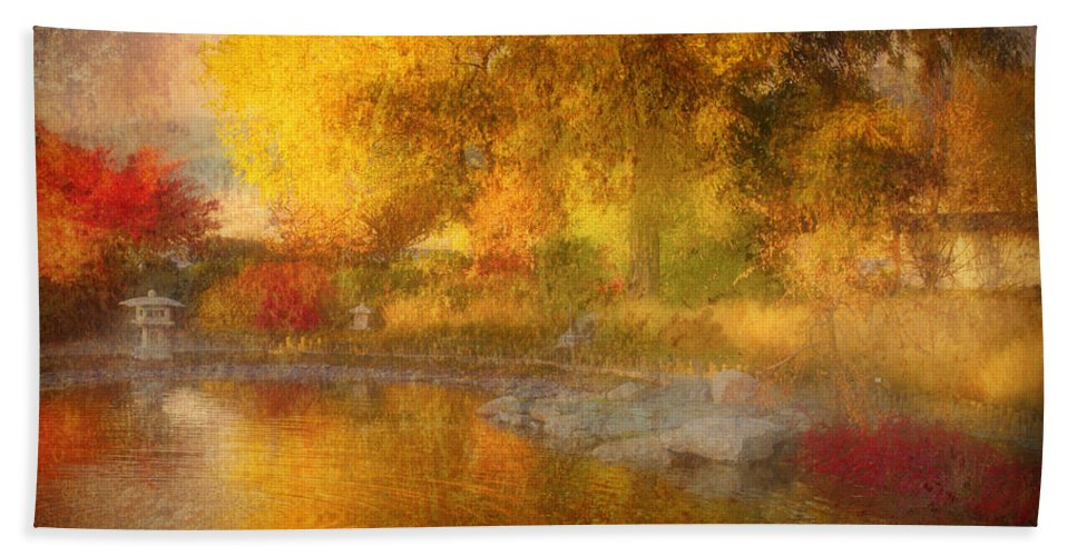 Autumn Hand Towel featuring the photograph The Colours I See When I Dream Of You by Tara Turner