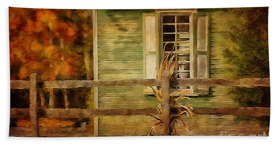 House Hand Towel featuring the photograph The Doctor's Office by Lois Bryan