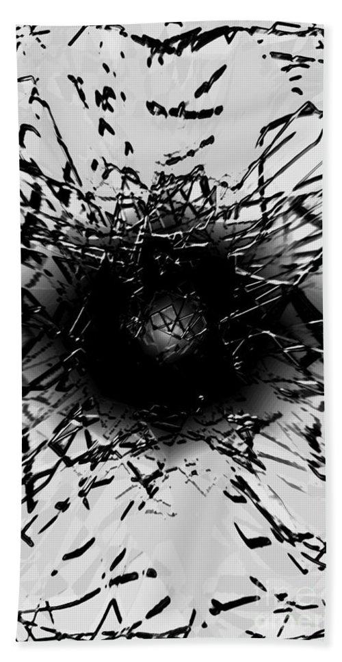 digital Art Bath Sheet featuring the digital art The Eye by Amanda Barcon