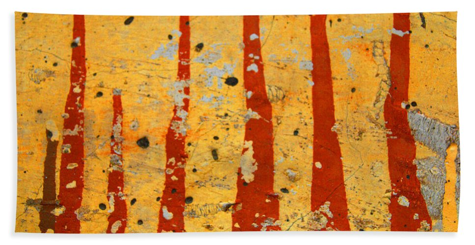 Paint Hand Towel featuring the photograph The Fire by Tara Turner