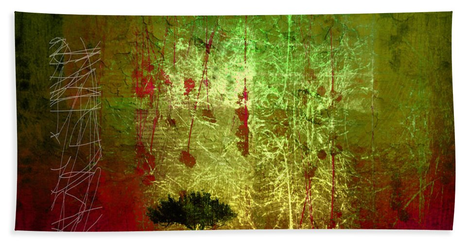 Tree Hand Towel featuring the photograph The First Tree by Tara Turner