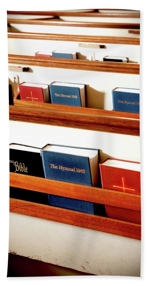 Bible Bath Sheet featuring the photograph The Good Books by Greg Fortier
