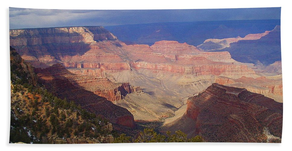 Grand Canyon Bath Sheet featuring the photograph The Grand Canyon by Marna Edwards Flavell