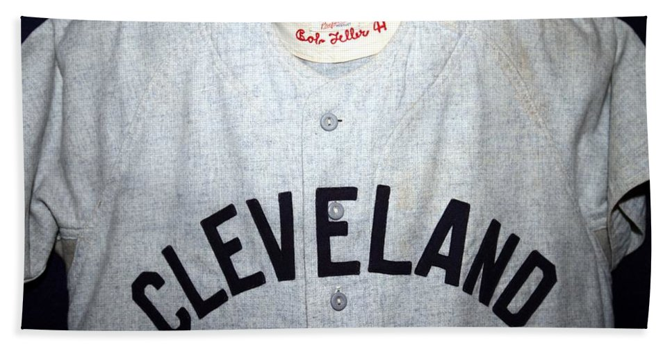 Bob Feller Hand Towel featuring the photograph The Heater From Van Meter by Christopher Miles Carter