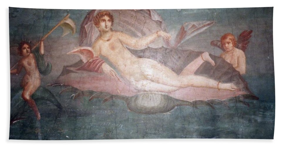 House Bath Sheet featuring the photograph The House Of Venus by Marna Edwards Flavell