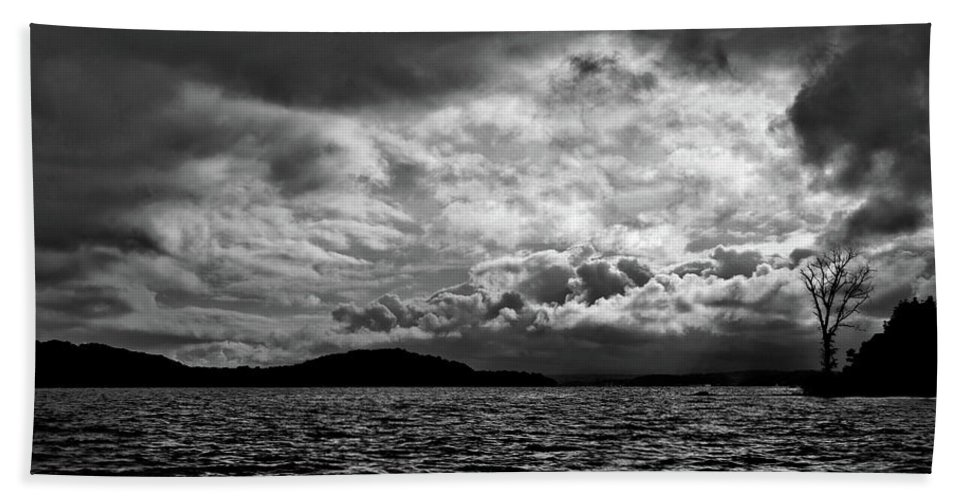 Nature Bath Towel featuring the photograph The Lake by John K Sampson