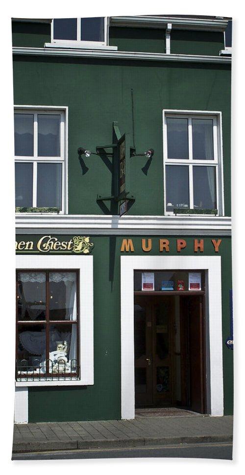 Irish Bath Sheet featuring the photograph The Linen Chest Dingle Ireland by Teresa Mucha