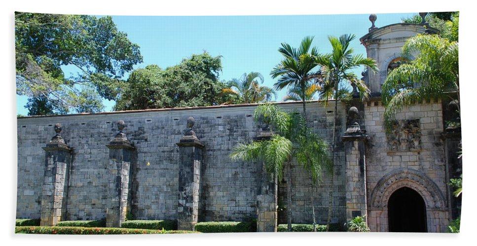 Florida Bath Sheet featuring the photograph The Miami Monastery by Rob Hans
