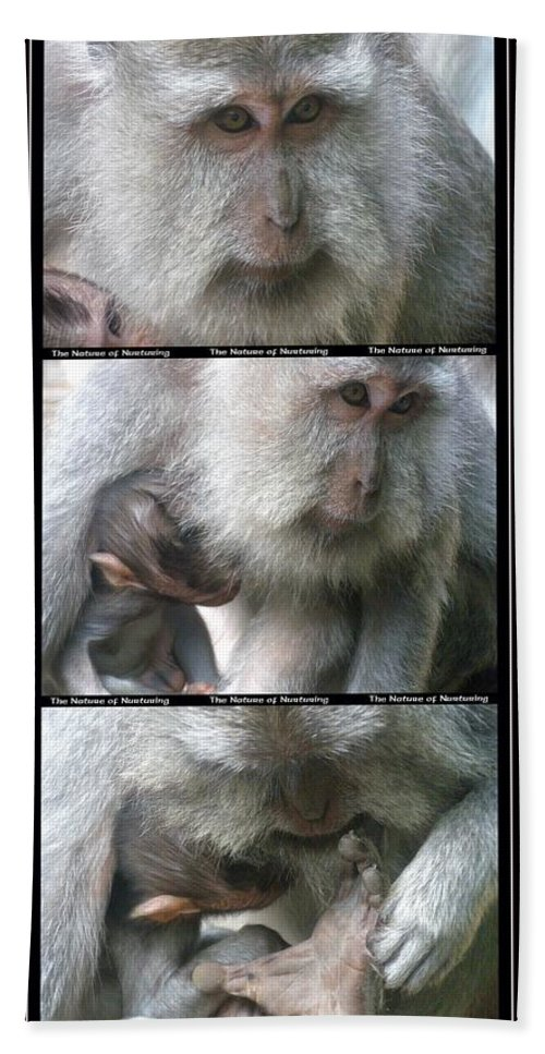 Bali Bath Sheet featuring the photograph The Nature Of Nurturing by Mark Sellers