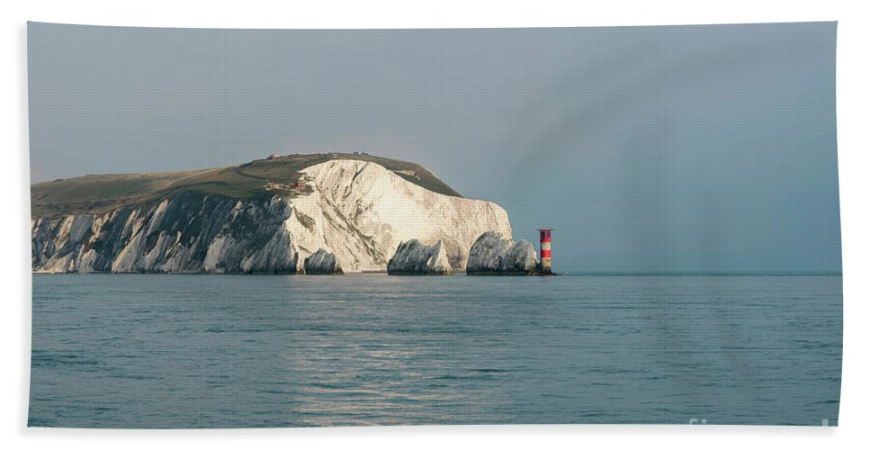 Needles Hand Towel featuring the photograph The Needles 002 by Clayton Bastiani