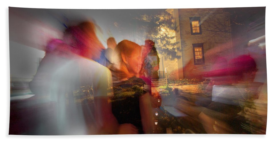 When Night Falls Bath Sheet featuring the photograph The Night Gerald Turned 60 by Jay Ressler