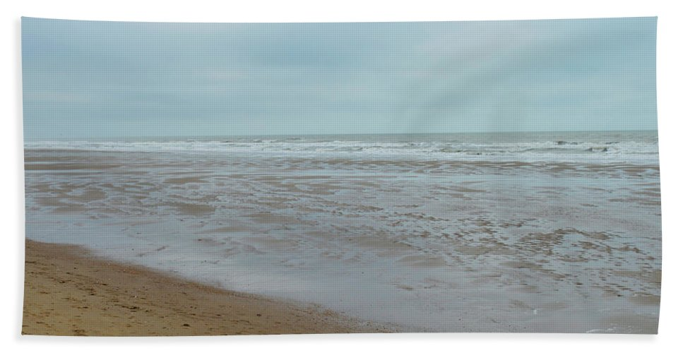 Beach Hand Towel featuring the photograph The North Sea Landscape by Shin Del