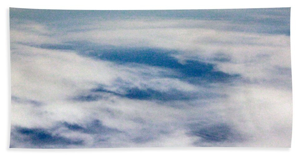 Heaven Bath Sheet featuring the photograph The Other Heaven by Munir Alawi