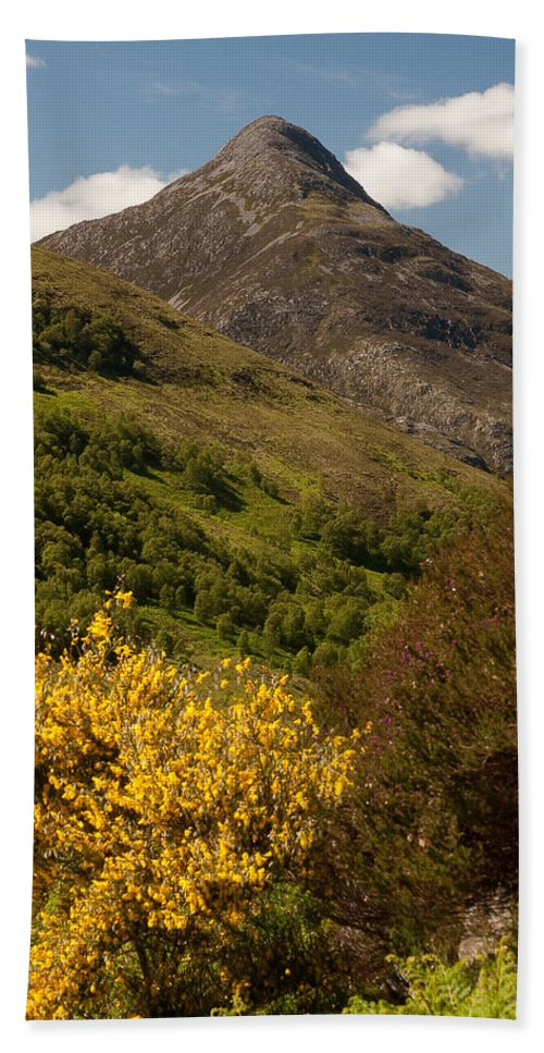 Scotland Bath Sheet featuring the photograph The Pap Of Glencoe by Colette Panaioti