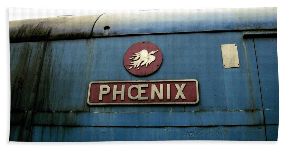 United Kingdom Hand Towel featuring the photograph The Phoenix by Julia Raddatz