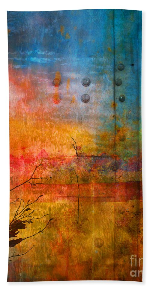 Colour Hand Towel featuring the photograph The Places I Have Never Been by Tara Turner