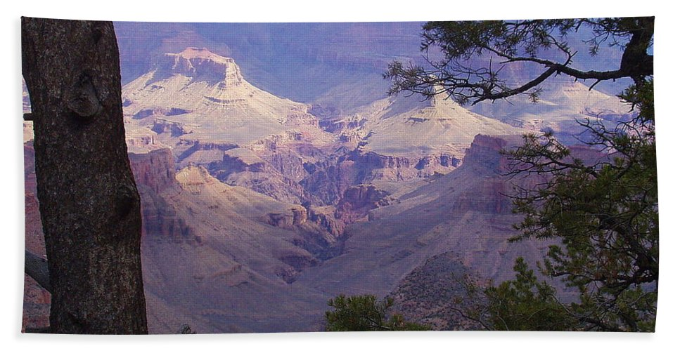 Grand Canyon Bath Sheet featuring the photograph The Purple Grand by Marna Edwards Flavell