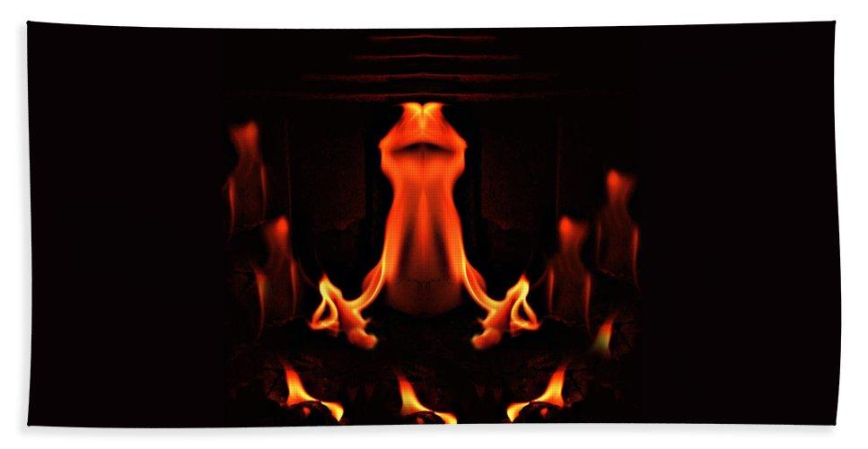Ritual Hand Towel featuring the photograph The Ritual by Munir Alawi