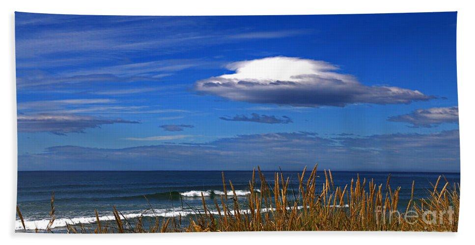Blue Hand Towel featuring the photograph The Seductive Sea by Nareeta Martin